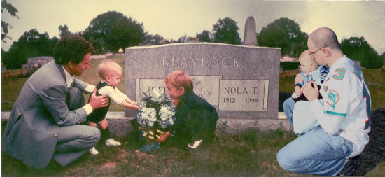 gravesite children photoshop