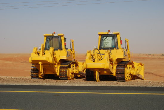 bulldozer machine metal