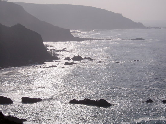 devon cornwall coast path