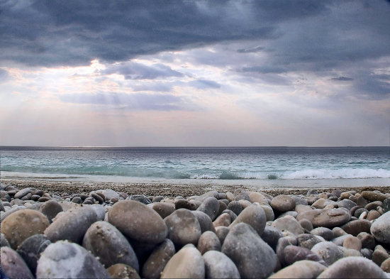 KORNI BEACH SEASCAPE ADRIATIC SEA