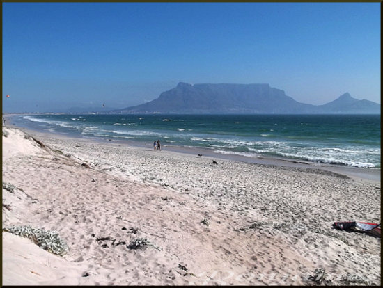 beach ocean tablemountain