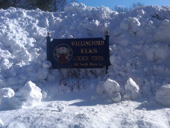 BPOE 1365 Snow Wallingford Elks