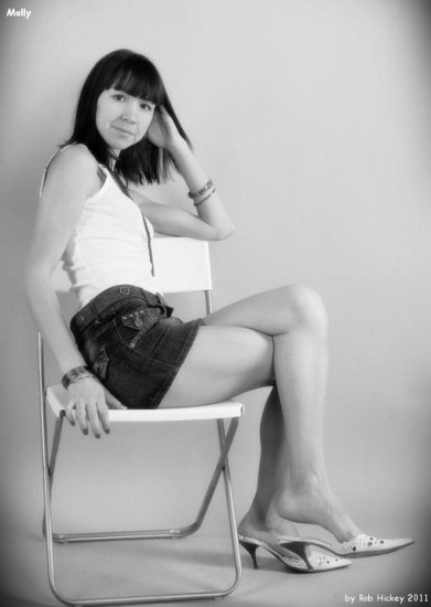 molly Studio Beauty BW Rob Hickey 2011