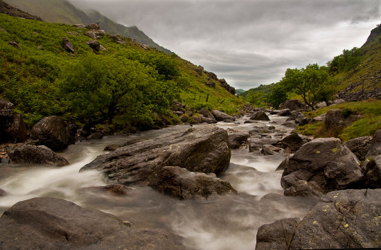 PASS OF LLANBERIS IN WALES