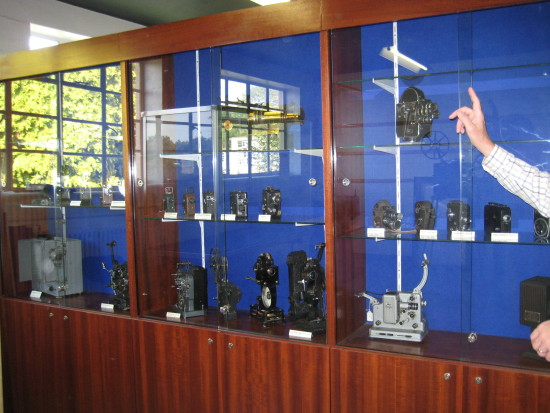 Visit to Bletchley Park and South Coast - Friday 19th August 2011   15. Exhibiton of cameras an...
