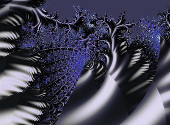 Fractal project - Forbidden Forest (with thanks to JKR for the inspiration)