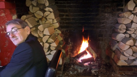 Saturday 27th October - a very cold wind blowing today. But we were cosy in the pub! We went to T...
