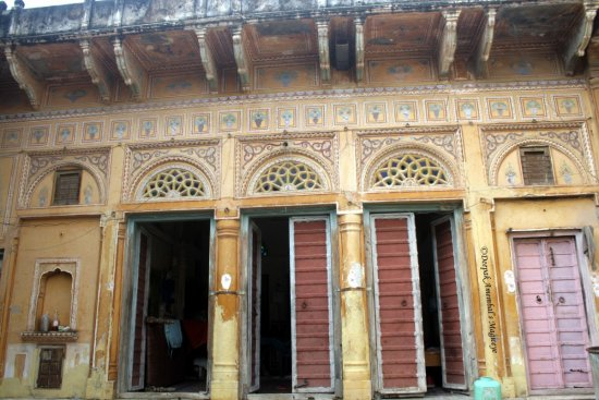 haveli mandawa rajasthan india
