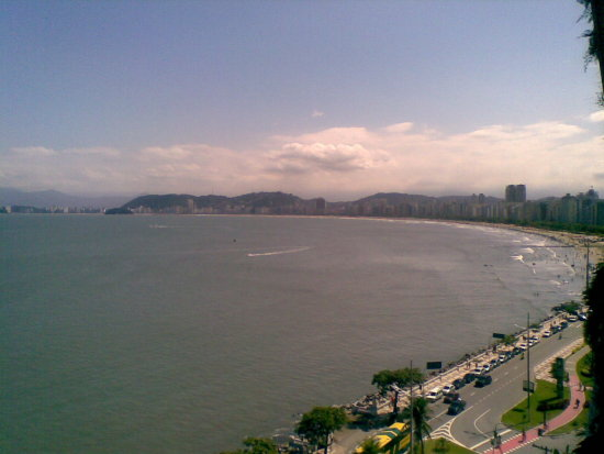 beach of santos city , my home veivh