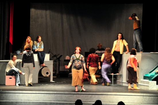 cast of hair at the ferndale repertory theatre artfriday2