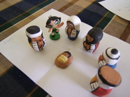 My children's powerpuff nativity