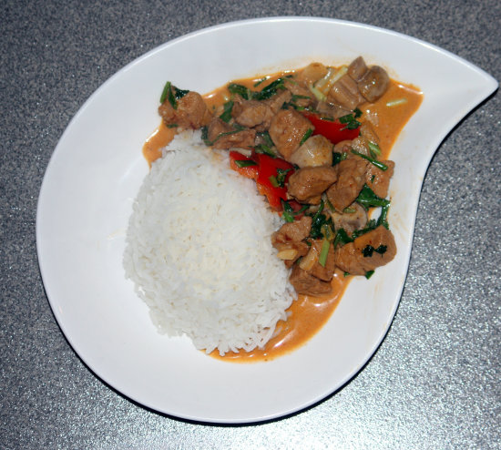 Thai Pork Red Curry