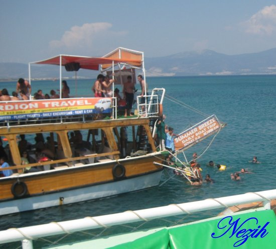 nezihmuin travel turkiye didim sea lanscape ship
