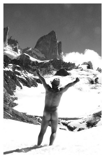 nature mountain nude breath patagonia