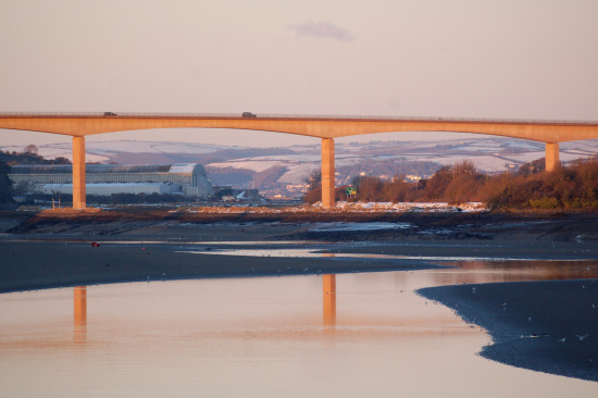 reflectionthursday bideford new bridge