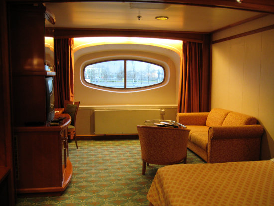 3. Here's our room - with a grand view of.........the car park!