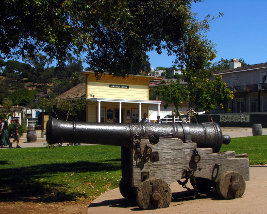 oldtown presidio sandiegoca cannon