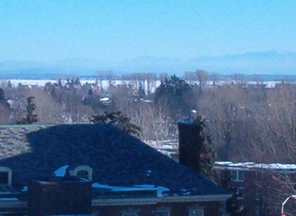 This is the view from my window- Lake Champlain and the Green Mountains in Vermont!!
