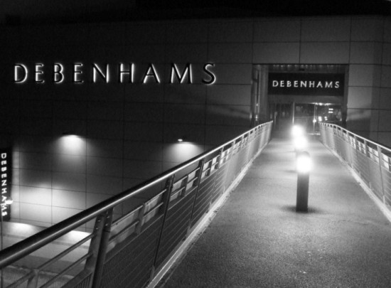 Black and White Hemel Hempstead Midnight January 1st 2011 Rob Hickey