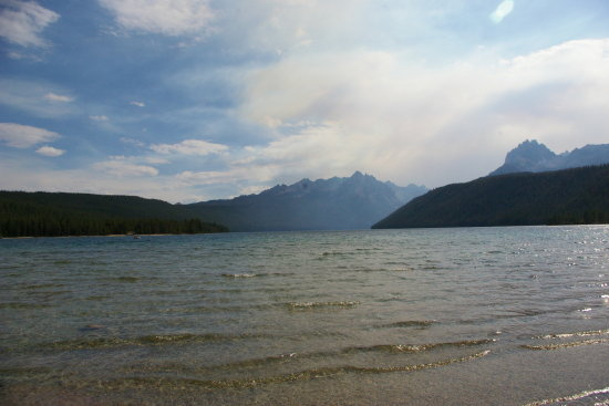 I forget the name of this lake but its near Stanley Id