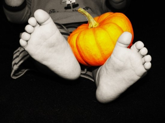 Trick or Treat, Smell my Feet :)