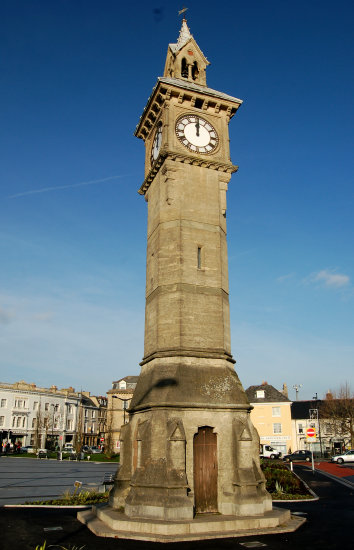 barnstaple devon clock tower prince albert