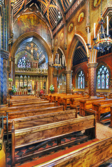 HDR Architecture Church Pugin