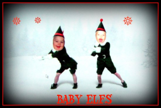 baby elfyourself holiday christmas elf