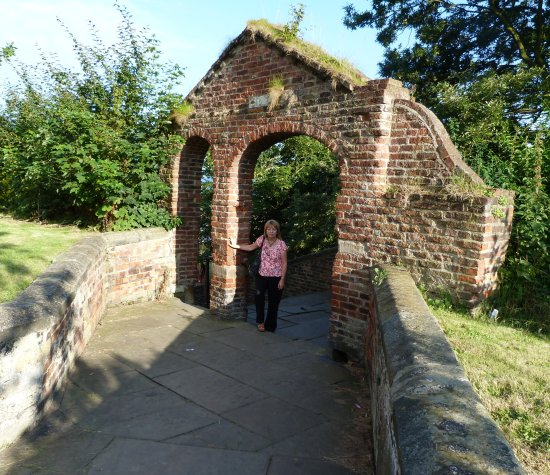 me, in the grounds of st marys church, scarborough