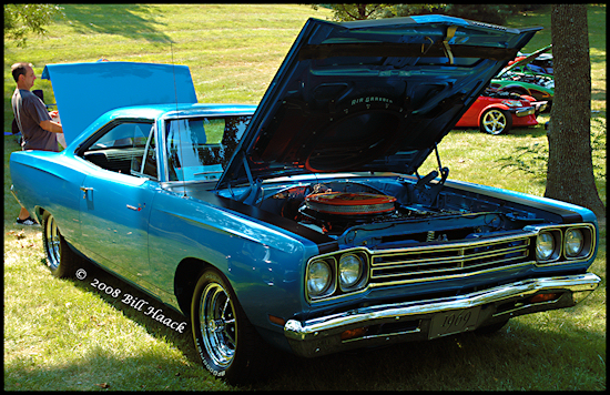 stlouis missouri us usa VagoPark car sport 1969 Road Runner 090307 bh 2007