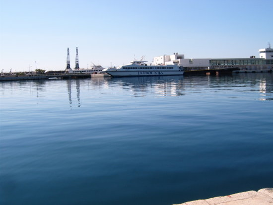 Harbour in Fiume