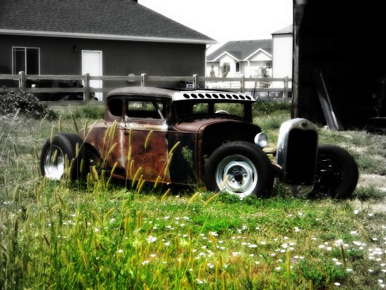 Abandoned Project Ford Hot Rod Rat Rod