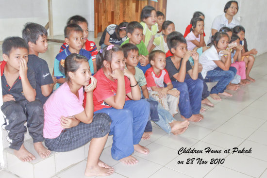children home pukak church tuaran tom