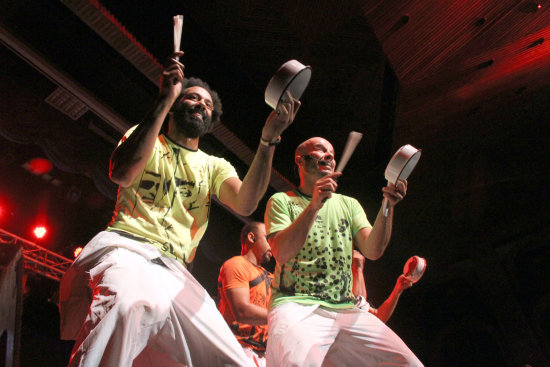 Brazilian musical group Patubate