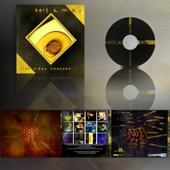 cover artwork design keit maj keitology music cd album collection