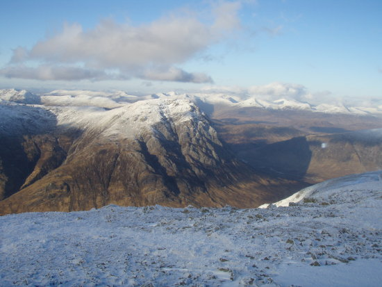 scotland snow hills hillwalking fun