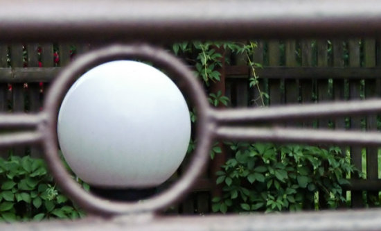 fence two ball sphere