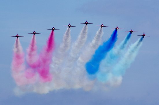 red arrows jets