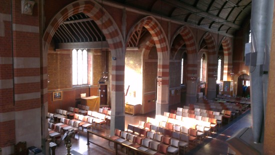 Sun streaming in while I was practising the organ on Thursday - such an unusual event these days,...