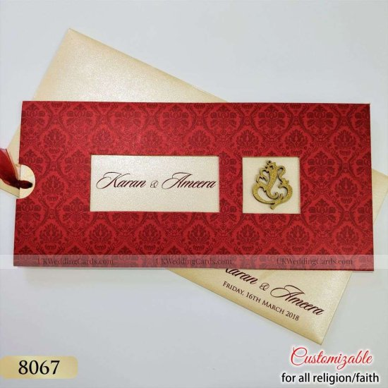 View Most Attractive Trendy Hindu Wedding Invitation Cards