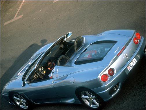 "My Future car to go with my jacket ""Ferrari 360 Spyder"""