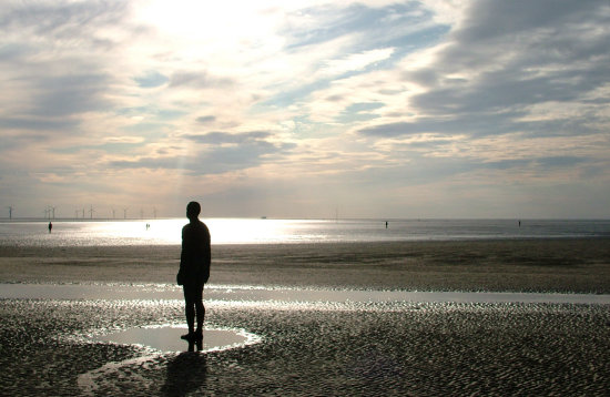 beach sea gormley liverpool