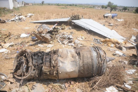 Bhoja Air Plane Crashes in HUSSAIN ABAD Islamabad