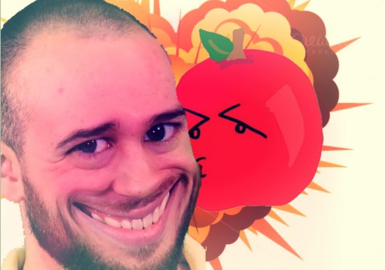 I Shipped Thatguybarney With His Beloved Apple And Am Calling It Bapple