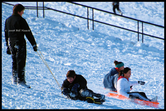 stlouis missouri us usa people action snow sledding bh 2007