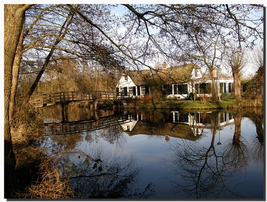 netherlands ankeveen water lake reflectionthursday nethx ankex waten