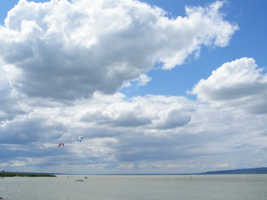 lake balaton blue