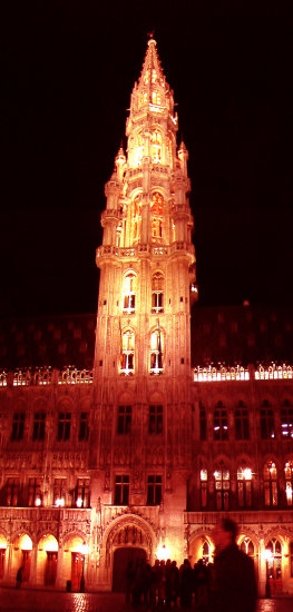 brussels night