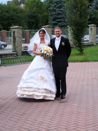 the bride and the groom ...  Anna i Tomasz