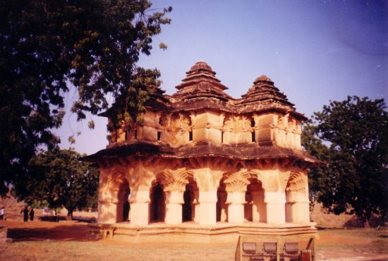 The Kamal Mahal at Hampi